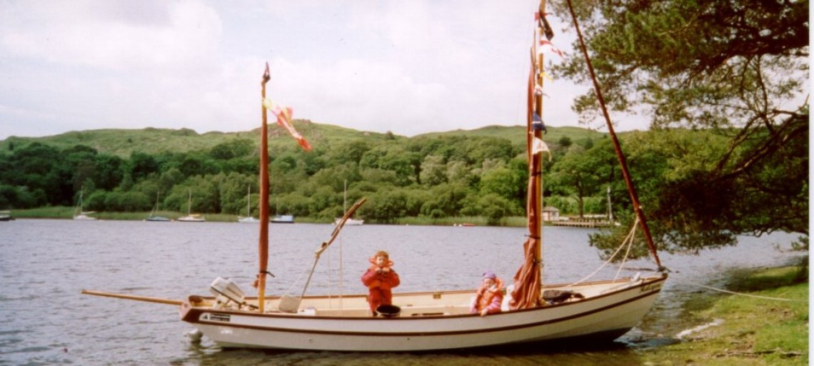 Taking shore leave at Windermere