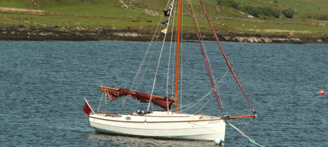 Anchored off Scarba, Scotland