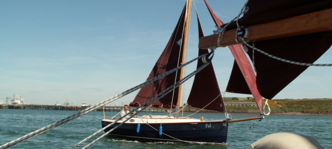Sailing in company, River Cleddau, Milford Haven