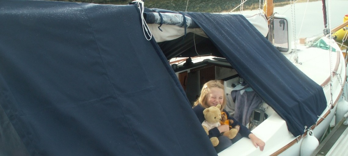 More of an accessory than a modification- one of my best acquisitions- a boat tent,